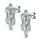 Stellato Collection Diamond Chandelier Earrings 0.12ct 9K White Gold - image 3
