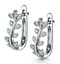 Stellato Collection Diamond Earrings 0.06ct in 9K White Gold - image 3
