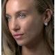 Diamond Stellato Star Earrings in 9K White Gold - image 3
