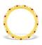 Poppy 18K Gold Ruby and H/SI 1CT Diamond Eternity Ring  HG20-322TJUA - image 2