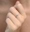 Diamond Eternity Ring Rae Channel Set 0.50ct G/Vs in Platinum - image 4
