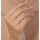 Mens 3ct H/Si Diamond 18K Gold Full Band Ring  IHG34-522JUA - image 4
