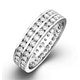 Eternity Ring Lucy 18K White Gold Diamond 1.00ct H/Si - image 1