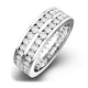 Eternity Ring Lucy 18K White Gold Diamond 2.00ct H/Si - image 1