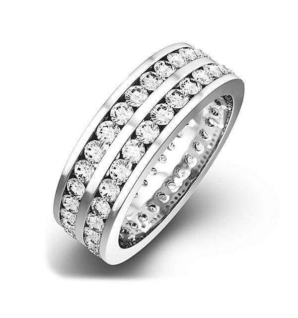 Eternity Ring Lucy 18K White Gold Diamond 3.00ct G/Vs - image 1