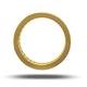 Mens 2ct H/Si Diamond 18K Gold Full Band Ring - image 3