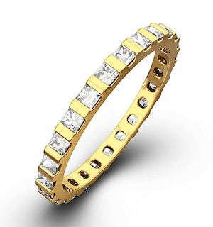 Eternity Ring Olivia 18K Gold Diamond 1.00ct H/Si