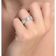 Eternity Ring Mia 18K White Gold Diamond 2.00ct H/Si - image 4