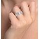 Eternity Ring Mia 18K White Gold Diamond 2.00ct G/Vs - image 4