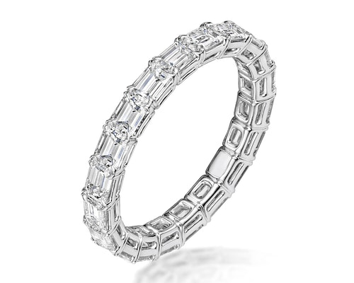 Viola Eternity Rings