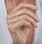Elisa Diamond Eternity Ring Asscher Cut 6.51ct VVs Platinum Size J-N - image 2