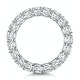 Stella Diamond Eternity Ring Round Cut 3.57ct VVs Platinum Size H-I - image 3