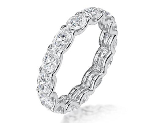 Oval Cut Eternity Rings