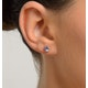 Tanzanite 5 x 4mm 18K Gold Earrings - image 2
