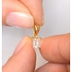 18K GOLD PRINCESS DIAMOND PENDANT 0.50CT G/VS - image 4