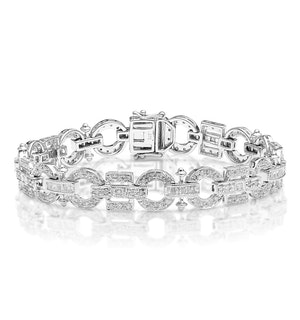 Everyday Bracelet 0.95CT Diamond 9K White Gold