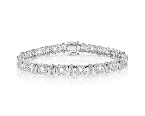 Pave Set Diamond Bracelet