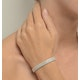 Evening Bracelet 1.00CT Diamond 9K White Gold - image 2