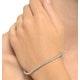 3ct Diamond Tennis Bracelet Claw Set in 9K White Gold - image 2