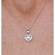 Stellato Collection Pearl and Diamond Pendant 0.06ct in 9K White Gold - image 3
