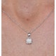 Stellato Collection Diamond Pendant in 9K White Gold - G4093 - image 3