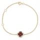 Ruby 1.18ct And Diamond 18K White Gold Alegria Bracelet - image 1