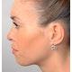 Aquamarine 3.69CT And Diamond 9K White Gold Earrings - image 2