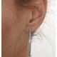 9KW Diamond Hoop Earrings 1ct - image 4