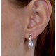 Stellato Pearl and Diamond Earrings 0.12ct in 9K White Gold  H4501 - image 4