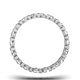 Eternity Ring Hannah 18K White Gold Diamond 1.00ct H/Si - image 3