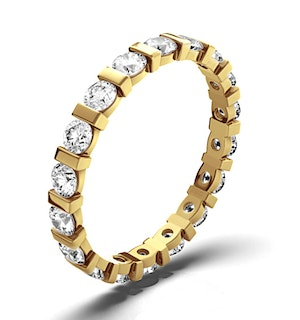 Eternity Ring Hannah 18K Gold Diamond 1.00ct G/Vs