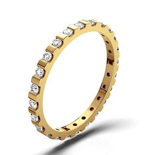 Eternity Ring Hannah 18K Gold Diamond 0.50ct H/Si