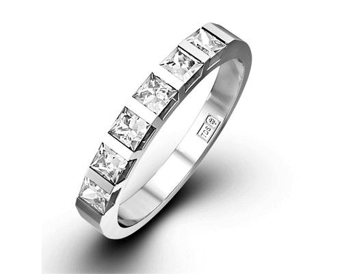 Olivia Half Eternity Rings