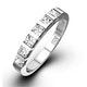 OLIVIA 18K White Gold Diamond ETERNITY RING 1.00CT G/VS - image 1