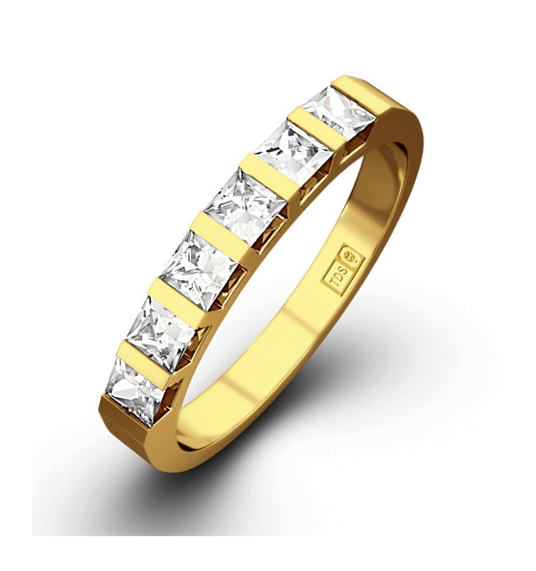 OLIVIA 18K Gold Diamond ETERNITY RING 0.50CT H/SI - image 1