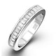 GRACE 18K White Gold Diamond ETERNITY RING 0.50CT H/SI - image 1