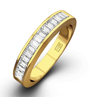 GRACE 18K Gold Diamond ETERNITY RING 1.00CT H/SI