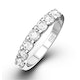 CHLOE 18K White Gold Diamond ETERNITY RING 1.00CT G/VS - image 1