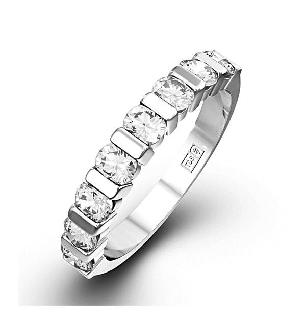 Hannah 18K White Gold Diamond Eternity Ring 1.50CT H/SI - image 1