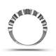 EMILY 18K White Gold Diamond ETERNITY RING 1.00CT H/SI - image 3