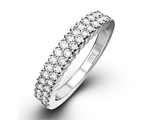 Sophie Half Eternity Rings