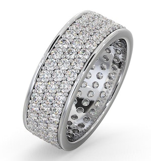 Eternity Ring Tia Platinum Diamond 2.00ct G/Vs