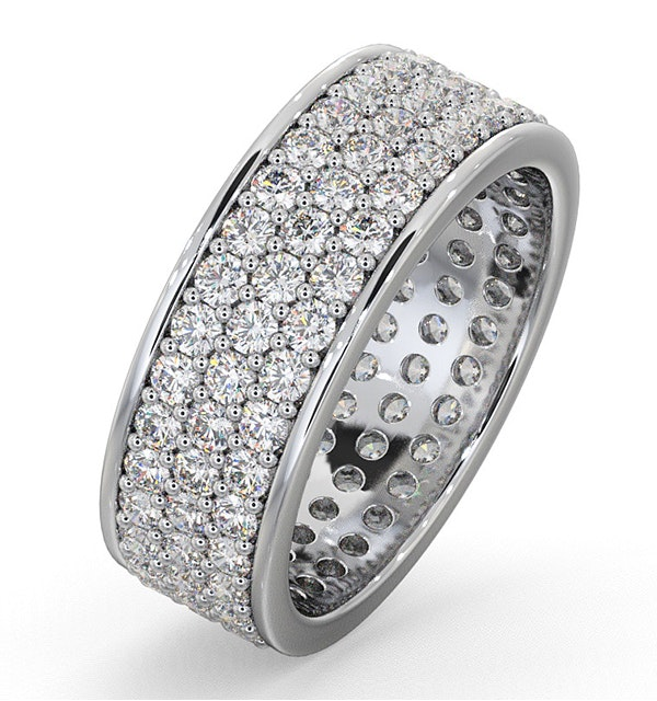 Eternity Ring Tia 18KW Diamond 2.00ct G/Vs - image 1