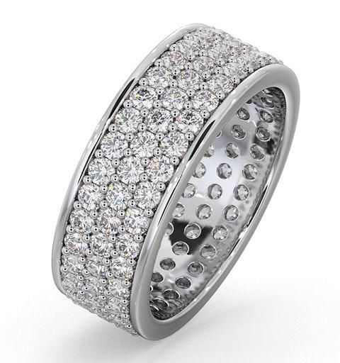 Eternity Ring Tia 18KW Diamond 2.00ct H/Si - image 1