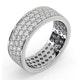 Eternity Ring Tia 18KW Diamond 2.00ct H/Si - image 2