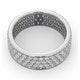Eternity Ring Tia 18KW Diamond 2.00ct H/Si - image 4