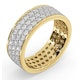 Eternity Ring Tia 18Ky Diamond 2.00ct H/Si - image 2