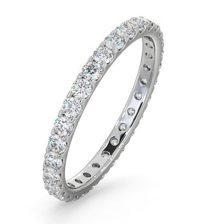 Eternity Ring Erin Platinum Diamond 1.00ct H/Si
