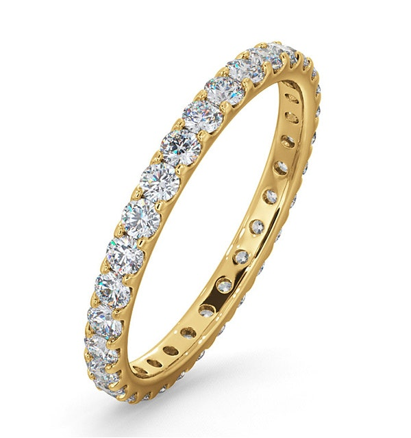 Eternity Ring Erin 18K Gold Diamond 1.00ct G/Vs - image 1