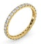Eternity Ring Erin 18K Gold Diamond 1.00ct G/Vs - image 2